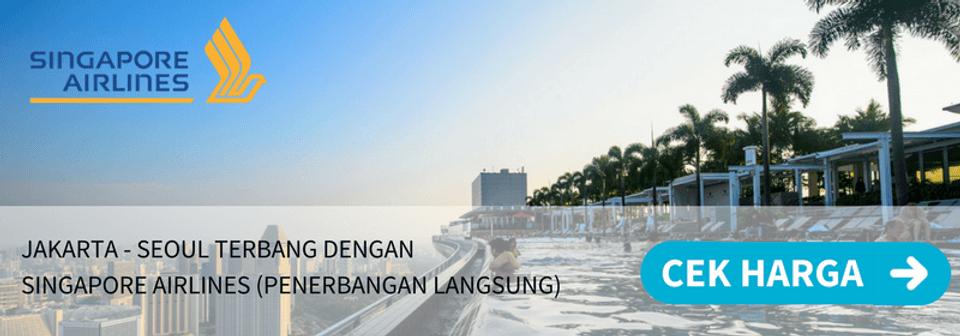 Tiket Pesawat Murah Soekarno Hatta Jakarta Ke Singapura