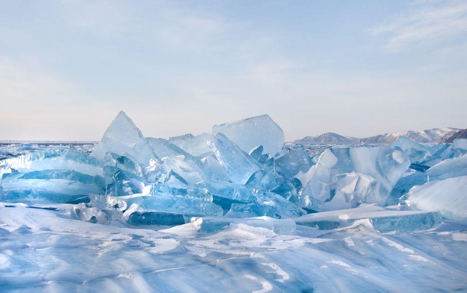 Северное озеро Байкал, Россия