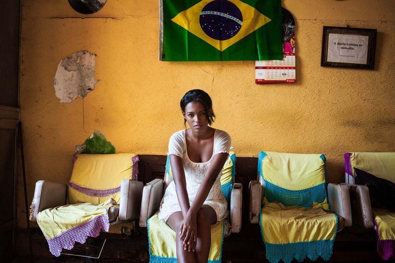 "Девушка из Рио-де-Жанейро из фотопроекта Михаэлы Норок ""Атлас красоты"""