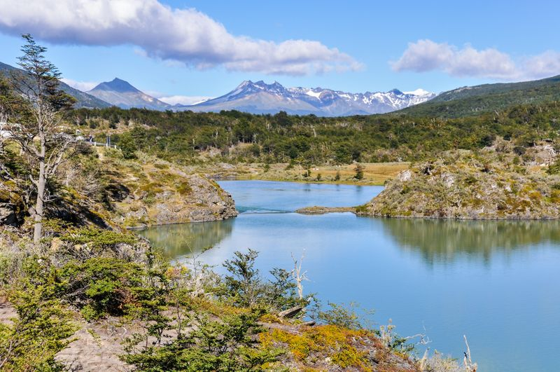 Tierra del Fuego National Park in Argentina