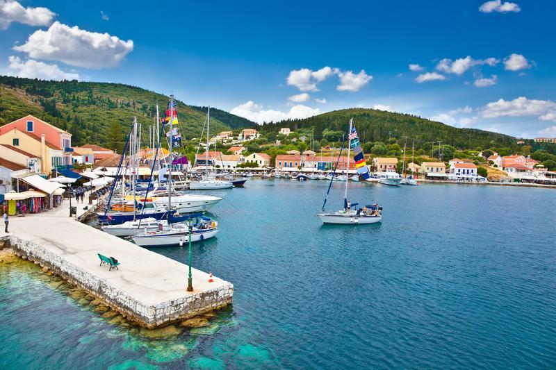 The Greek island of Kefalonia