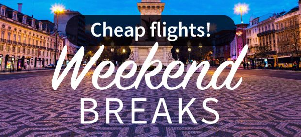 Weekend city breaks from just £20