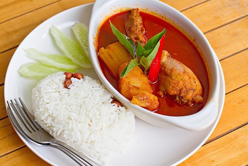 Южно-тайское блюдо кари Массаман