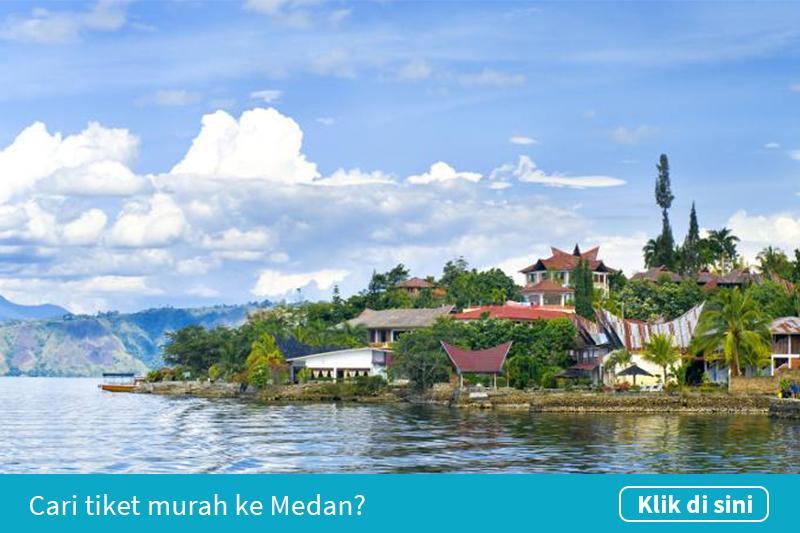 Klik untuk cari tiket pesawat murah ke Medan