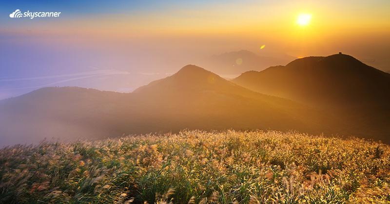 วิวอุทยานแห่งชาติหยางหมิงซาน