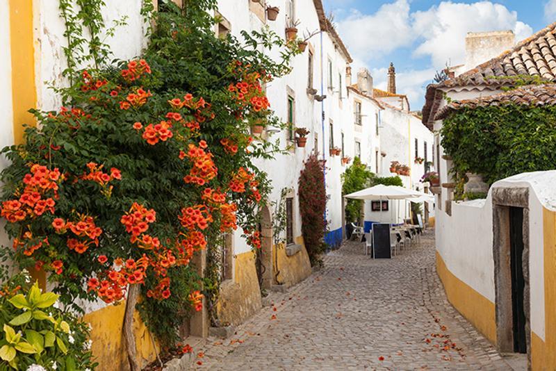 Улица города Обидуша в Португалии