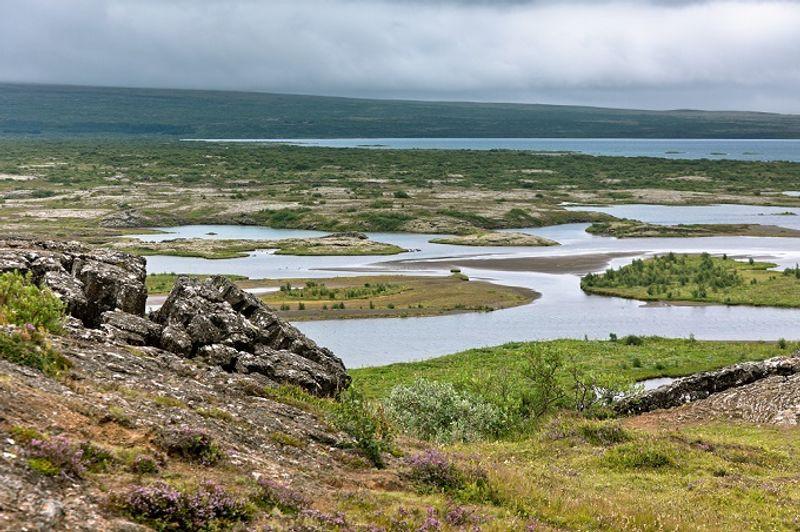 parque nacional de pingvellir en islandia juego de tronos