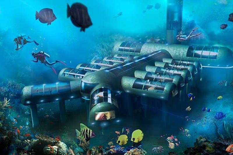 Ebenfalls Noch In Planung Planet Ocean Underwater Hotel