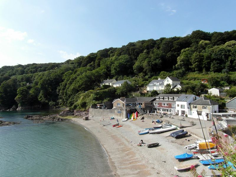 Cawsand village and bay, Cornwall