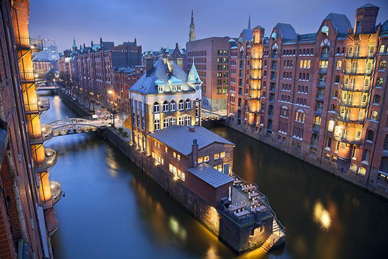 Верфь в Гамбурге