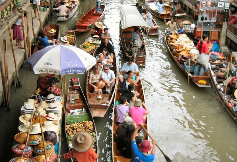 Pasar Terapung Thailand