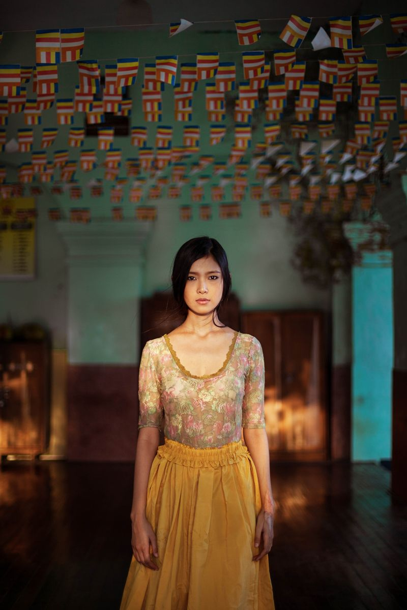 """Девушка из Мьянмы из фотопроекта Михаэлы Норок """"Атлас красоты"""""""