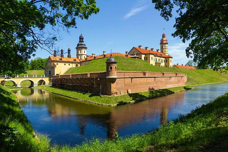 Одна из жемчужин Белоруссии — дворцовый комплекс в Несвиже