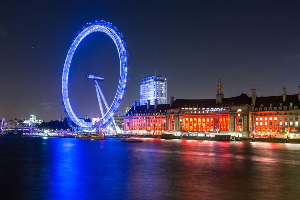 Großartig London, England. Valentinstag Städtereise