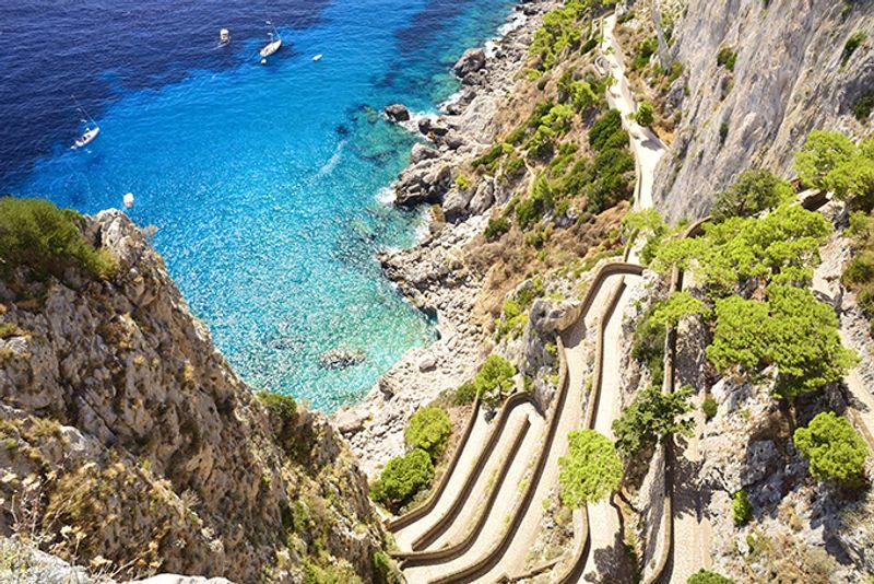 Итальянские пляжи: Марина Пикола (Marina Piccola)