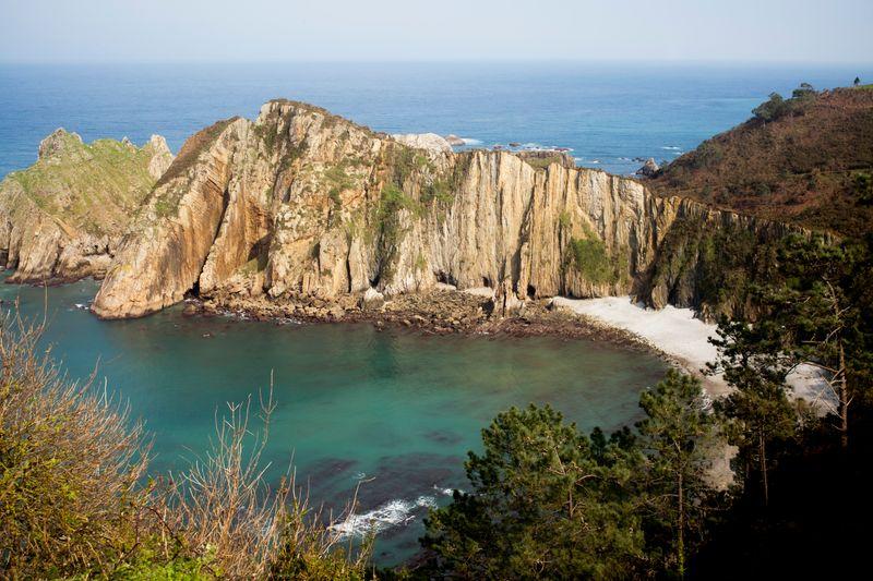 melhores praias da espanha - Asturias praia tranquila