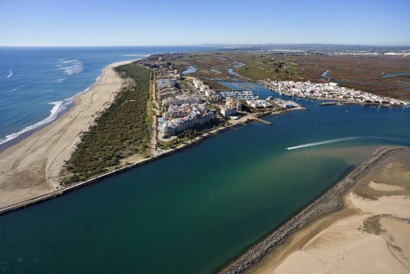 Playa de Isla Canela en Huelva, Spain