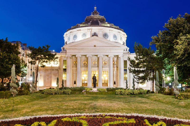 Bucarest cosa vedere: Ateneo romeno
