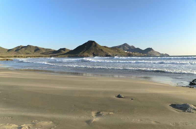 Playa de los Genoveses Almería España