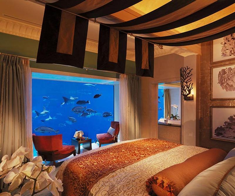 Los mejores hoteles bajo el agua de dub i a las maldivas for Hotel bajo el mar dubai