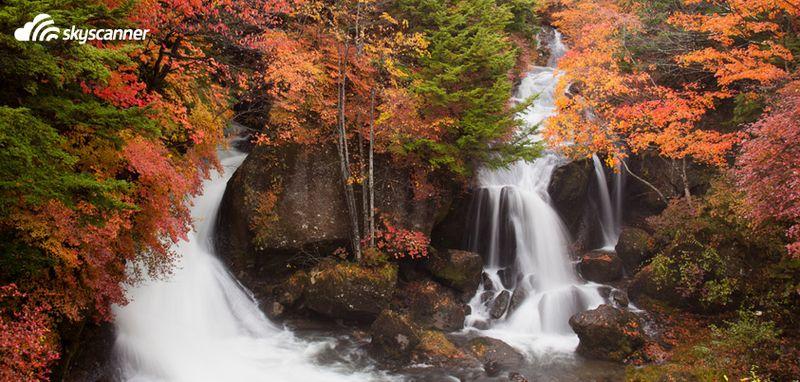 Nikko Ryuzu Falls, Nikko, Japon