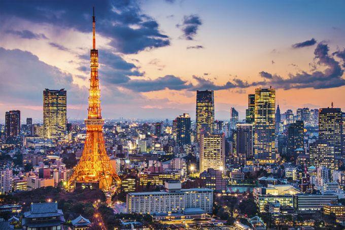 Die Skyline Tokios