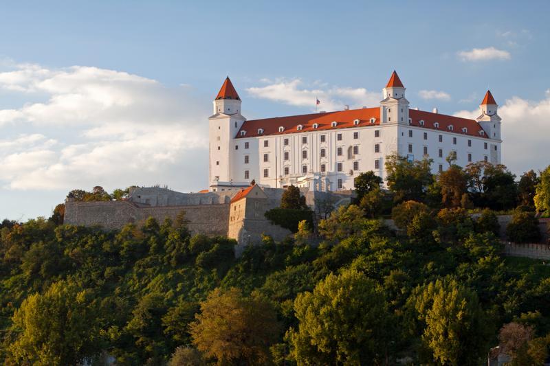 Το κάστρο της Μπρατισλάβα στη Σλοβακία