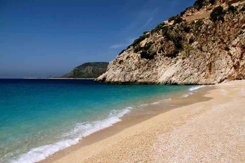 Пляж Капуташ, Каш, Турция