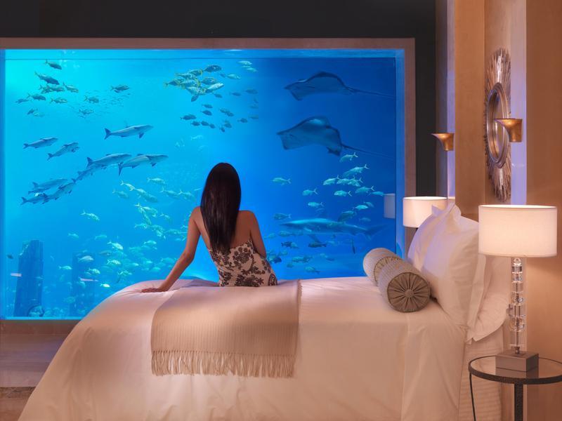 Underwater Room At Atlantis The Palm Dubai