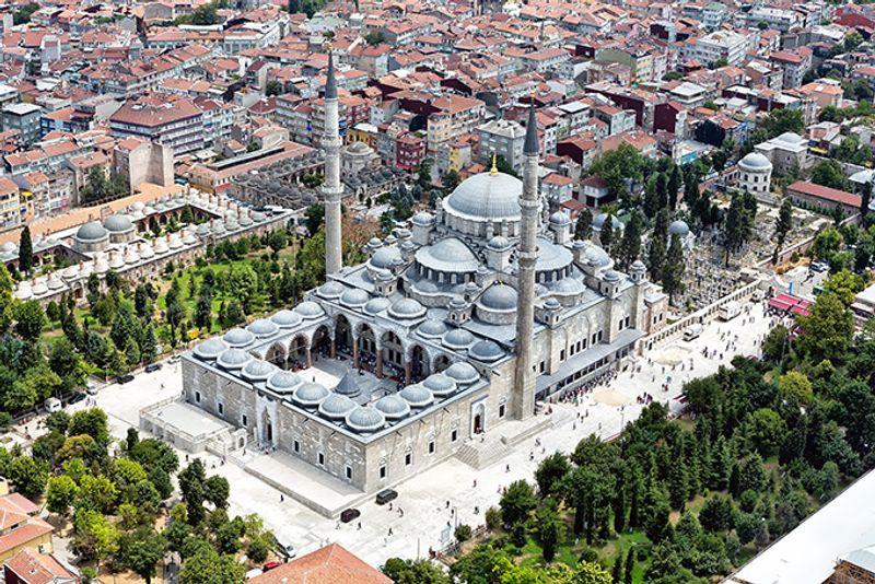 Достопримечательности Стамбула: Мечеть Сулеймание