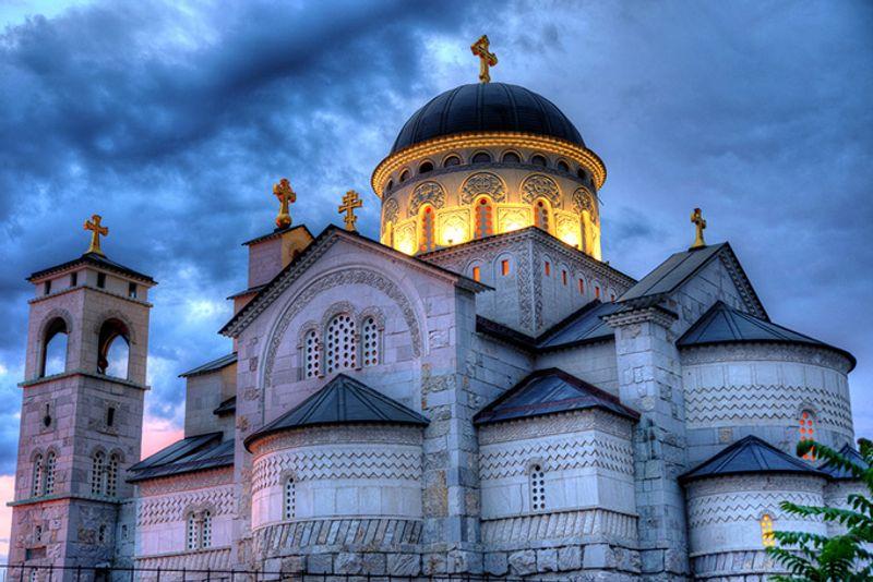 Православный собор в Подгорице, Черногория