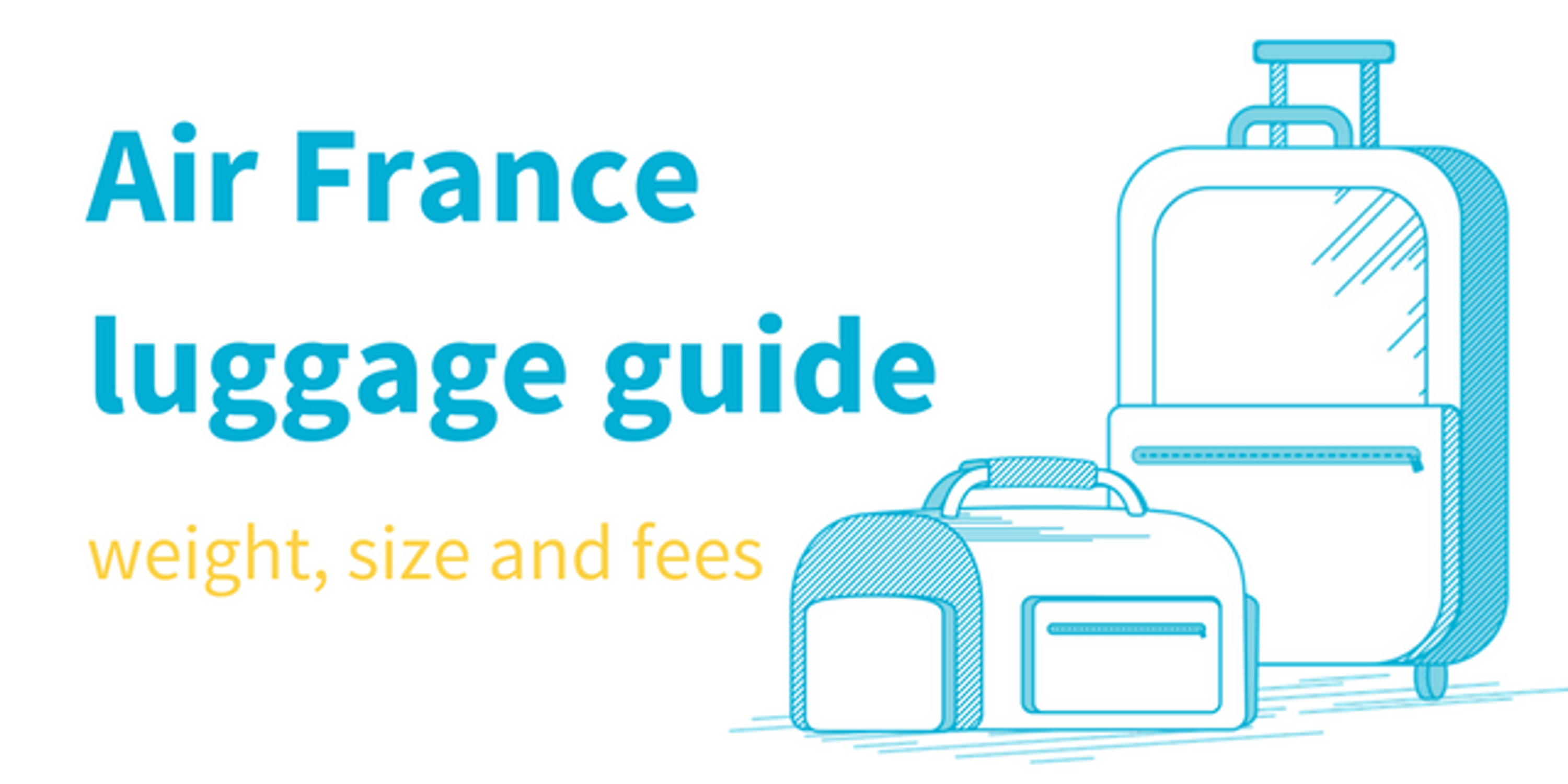 Air France baggage restrictions explained and how to maximise your ...
