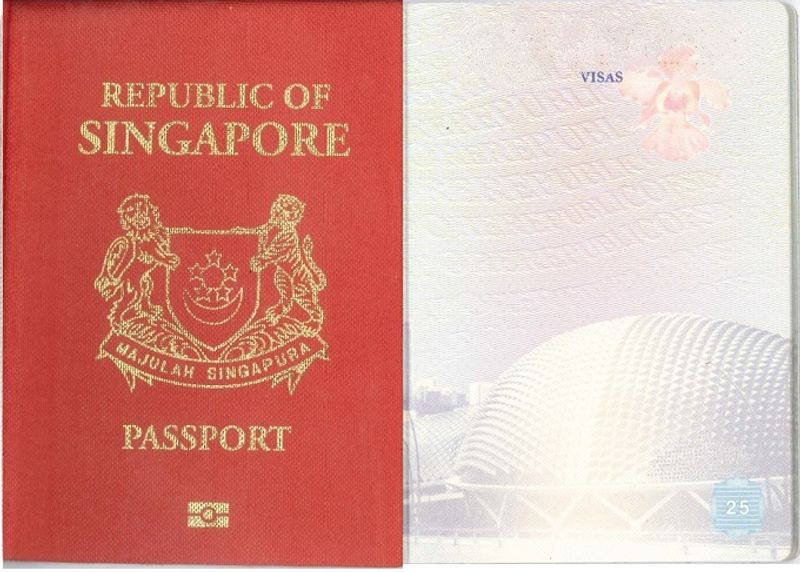 Image result for singaporean passport