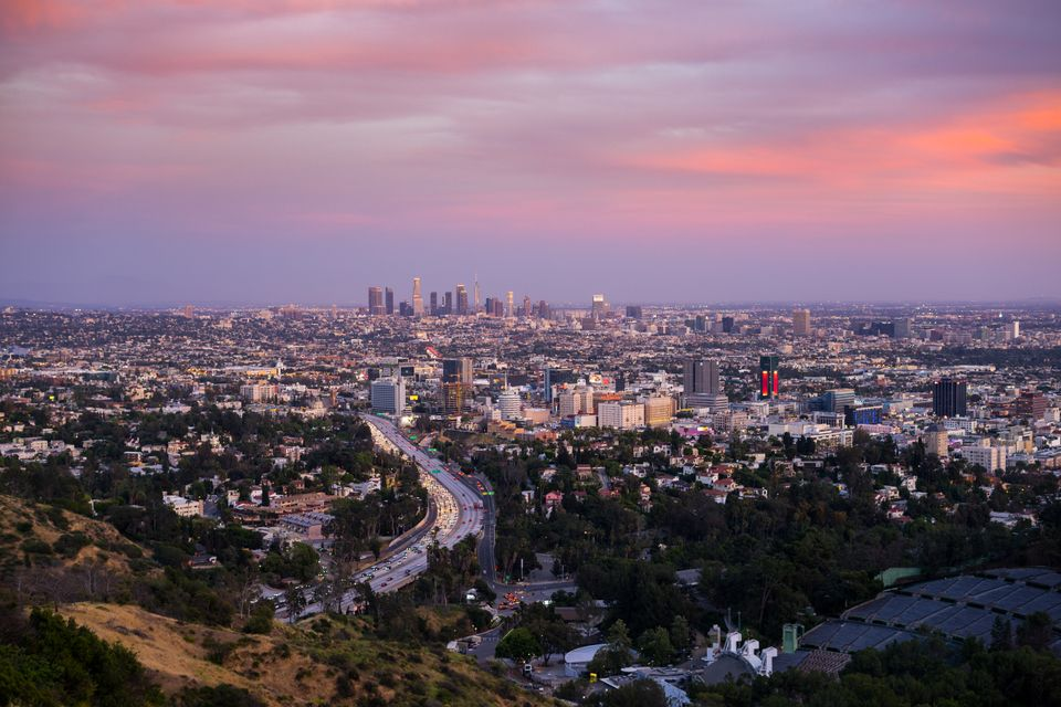 Car hire in Los Angeles