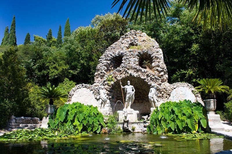 arboreto de trsteno en juego de tronos croacia