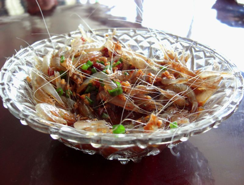 Пьяные креветки, Китай