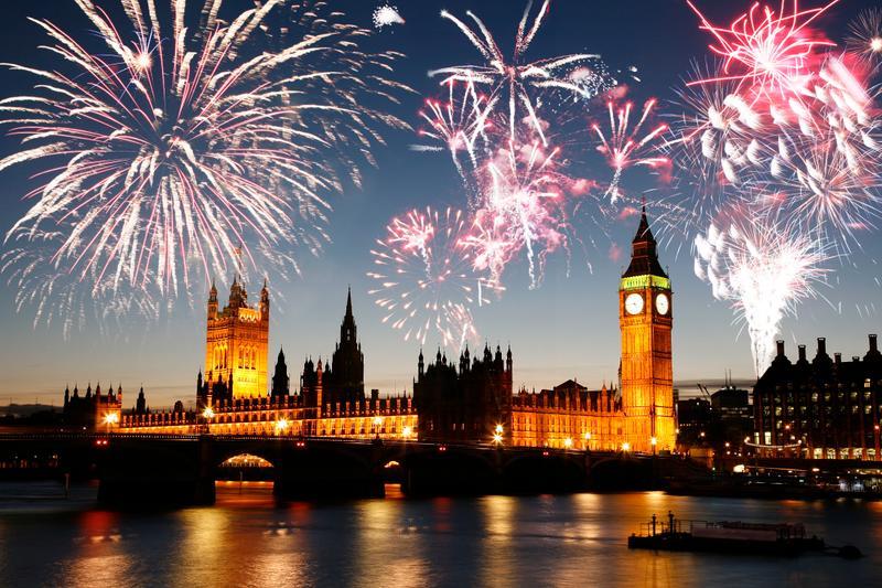 Λονδίνο πυροτεχνήματα