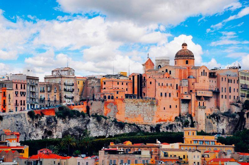 Cagliari, scorcio di città