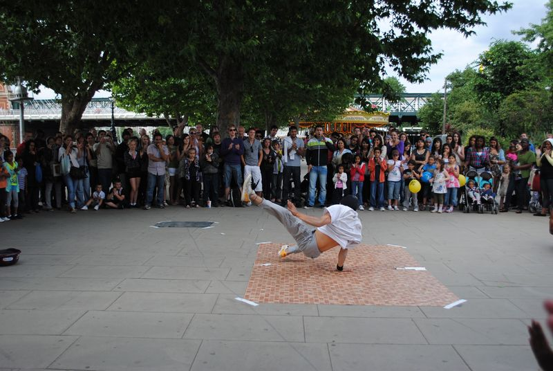 bailar breakdance en londres
