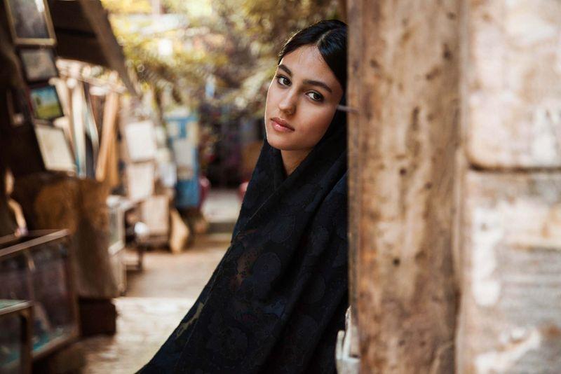 """Жительница Ирана из фотопроекта Михаэлы Норок """"Атлас красоты"""""""