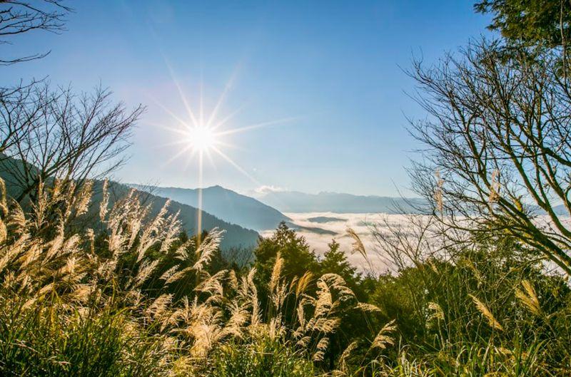 台灣最美第一道曙光-太平山