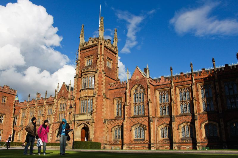 Queens University Belfast Historic Building