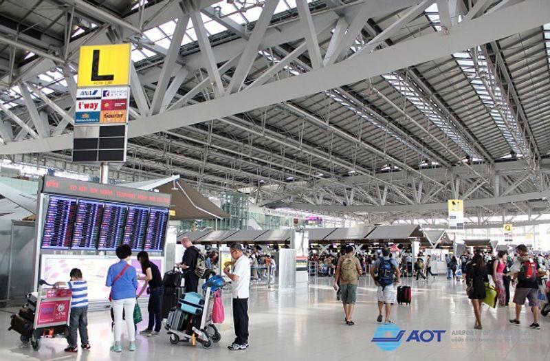 เคาน์เตอร์เช็คอิน สนามบินสุวรรณภูมิ