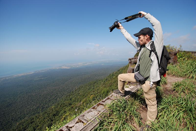 Вид в заповеднике Пном Бокор