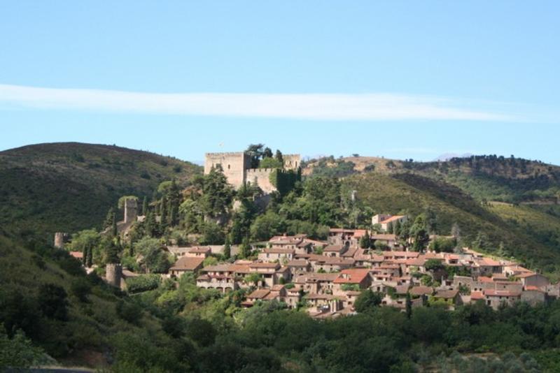La charmante bourgade de Castelnou