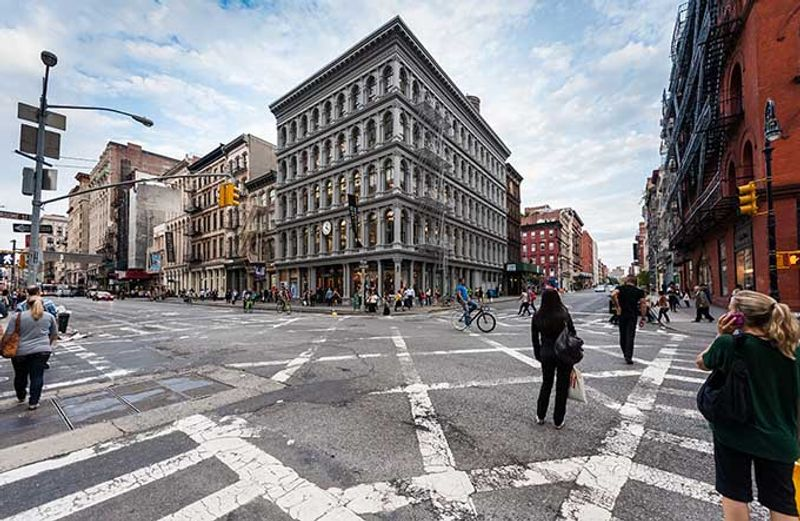 soho new york editorial use only by JULIEN hautcoeur shutterstock.com