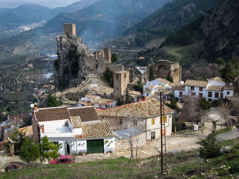 Las vistas del castillo de La Iruela en Jaén