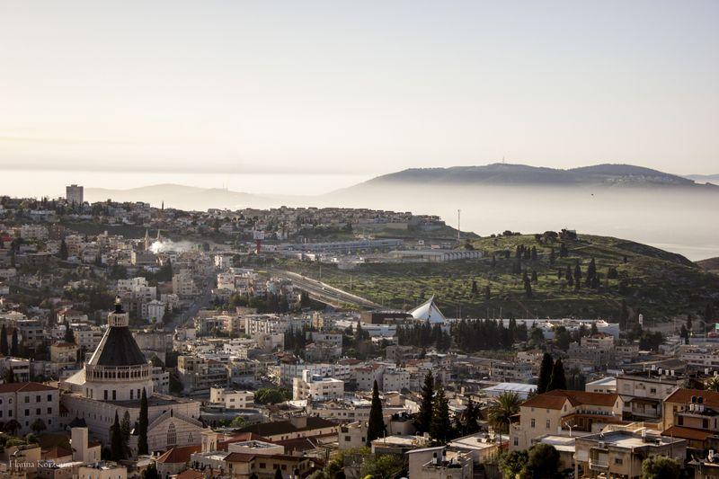 ciudad de nazareth en israel
