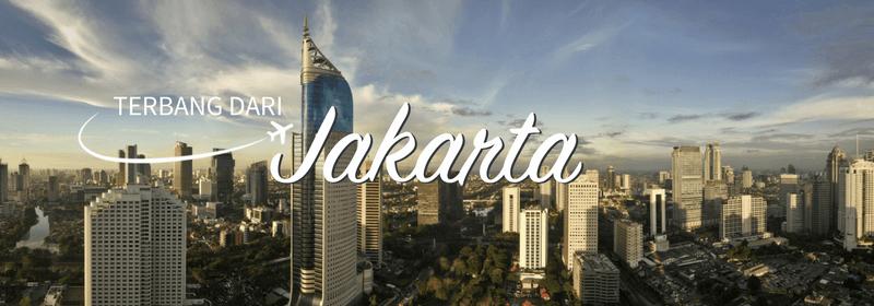 Keberangkatan dari Jakarta