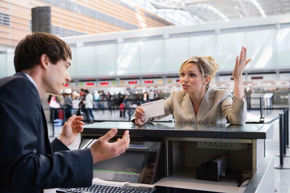 Что делать, если опоздал на рейс в аэропорту